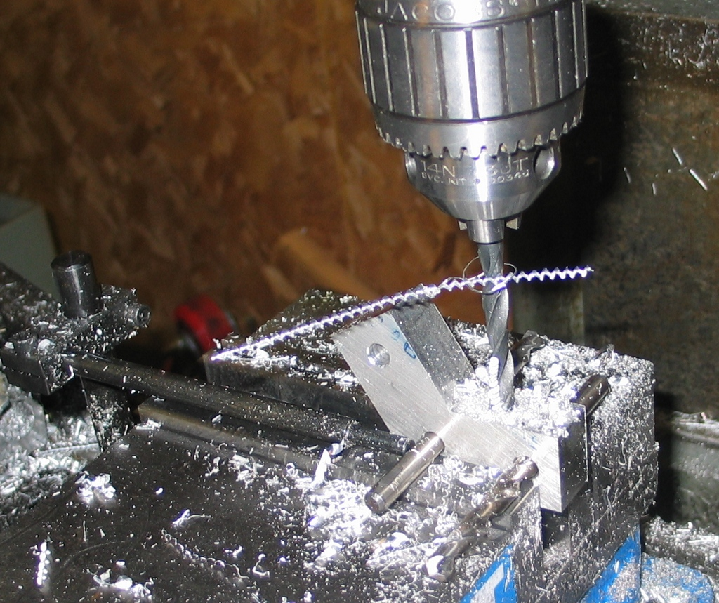 drilling cross holes